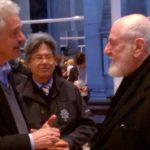 Michelangelo Pistoletto e Claudio Almanzi Venezia