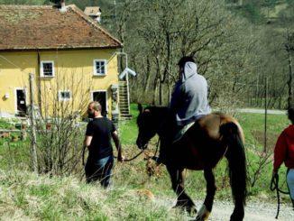 a cavallo Sassello