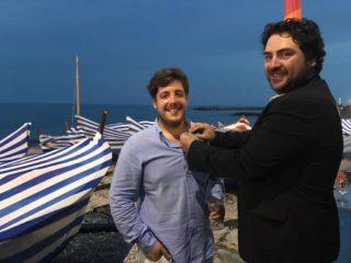 Leo Club Albenga Raiko Radiuk consegna la spilla da presidente a Simone Breeuwer