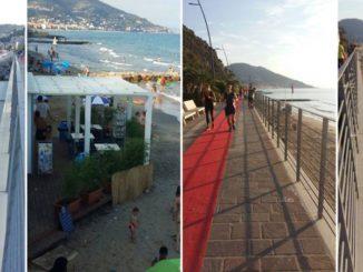 Spiaggia libera Laigueglia