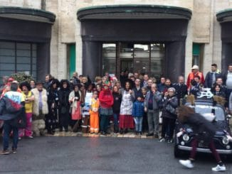 01 Epifania 2018 Polizia Locale Albenga al Gaslini