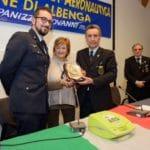 07 Cerimonia nuovo defibrillatore Croce Bianca di Alassio