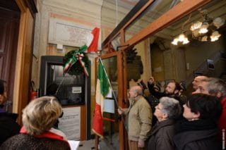 07 Giorno Memoria cerimonia ad Alassio Targa Luigi Therisod