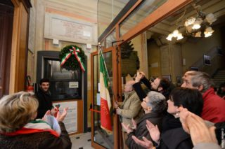 08 Giorno Memoria cerimonia ad Alassio Targa Luigi Therisod