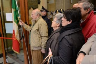 09 Giorno Memoria cerimonia ad Alassio Targa Luigi Therisod