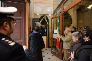10 Giorno Memoria cerimonia ad Alassio Targa Luigi Therisod