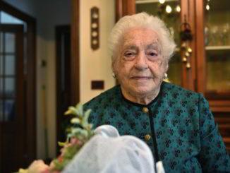 101esimo compleanno per Giovanna Lorenzati