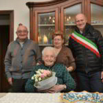 101esimo compleanno per Giovanna Lorenzati con sindaco di Alassio