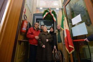 11 Giorno Memoria cerimonia ad Alassio Targa Luigi Therisod