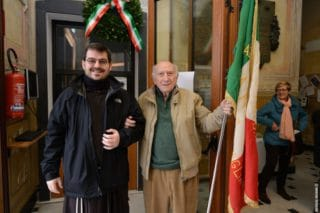 12 Giorno Memoria cerimonia ad Alassio Targa Luigi Therisod