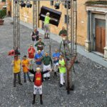 Fieui di caruggi flash mob Albenga