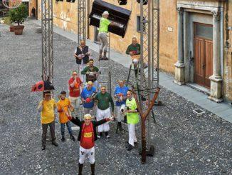 Fieui di caruggi flash mob Albenga