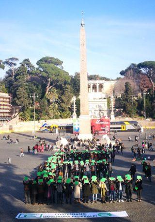 Flash mob Federalista