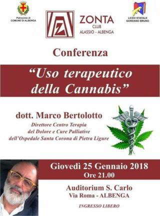 Incontro Zonta Club Marco Bertolotto Albenga 25 gennaio 2018