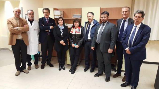 gruppo equipe e direttori assessoreTrapianto Rene Gaslini S. Martino