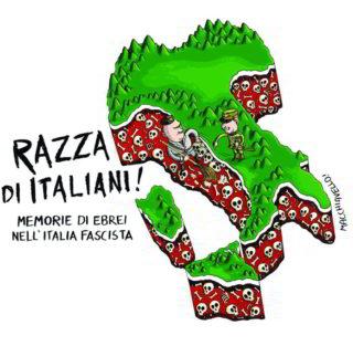 immagine manifesto razza di italiani macchiavello