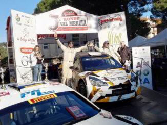 1 classificato Miele - Rally Ronde Val Merula
