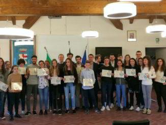 Gli Studenti premiati ad Andora