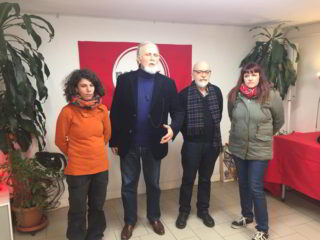 Moni Ovadia e i candidati savonesi di Potere al Popolo 2