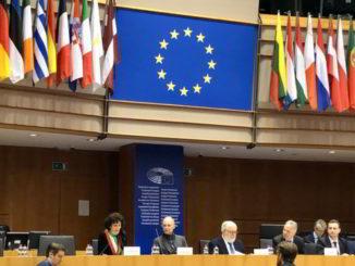 Patto dei Sindaci Bruxelles sindaco Savona Ilaria Caprioglio