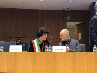Patto dei Sindaci - Bruxelles sindaco Savona Ilaria Caprioglio in Parlamento UE
