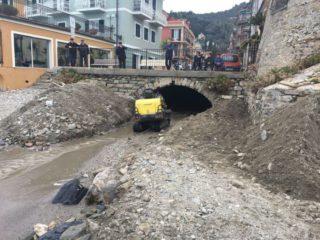Pulizia rio Palmero Alassio 2018 02 16