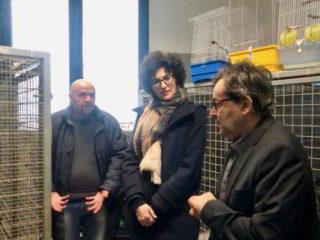 Savona Enpa sindaco Caprioglio e assessore Scaramuzza