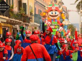Super Mario bros al CarnevaLoa 2018