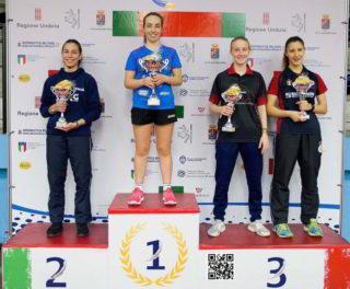 Valentina Roncallo podio