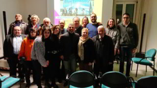 foto gruppo a Laigueglia