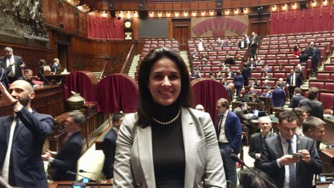01 Sara Foscolo alla Camera dei deputati