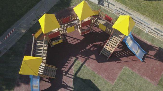 Area Giochi del Parco Don Leone Grossi a Loano