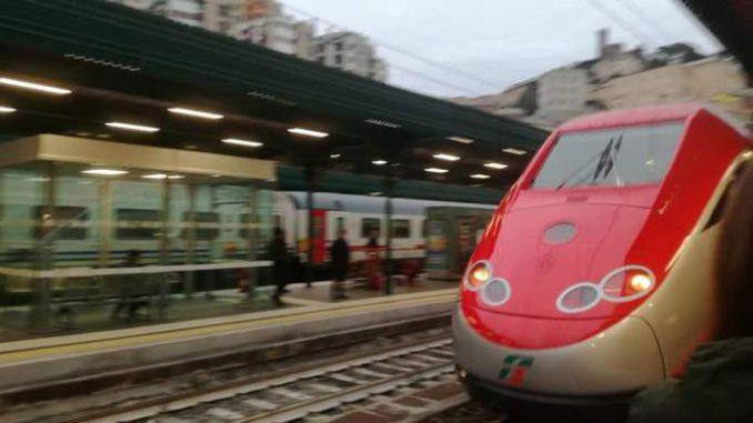 Frecciarossa alla Stazione di Genova Principe