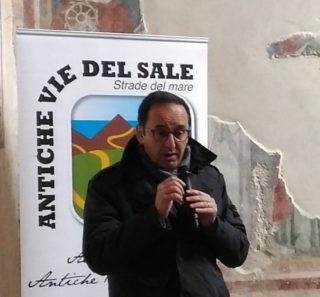 Angelo Berlangieri Convegno Antiche vie del Sale 2018