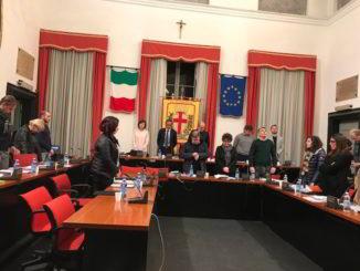 Consiglio Comunale Albenga minuto silenzio