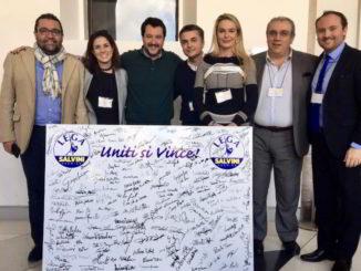 Eletti savonesi e liguri lega con Salvini