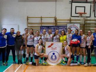Pallavolo Albenga campioniTERRITORIALIU16F 2018