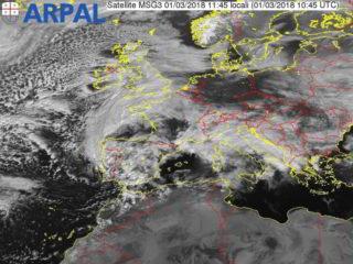 Satellitare mediterraneo1145 1 marzo 2018