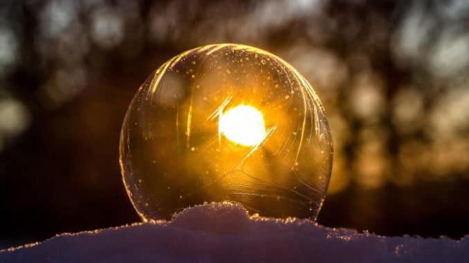 neve e sole filtrato