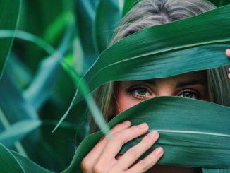 verde occhi piante