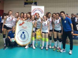 Pallavolo Albenga Under 14 femminile Campioni