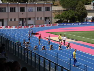 Stadio Olmo staffette