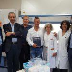 02 Paolo Belli visita Ospedale Gaslini