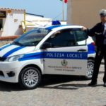 01 mezzo elettrico Polizia Locale Laigueglia