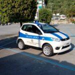 02 mezzo elettrico Polizia Locale Laigueglia