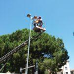 03 Illuminazione area giochi parco sportivo di piazza Europa