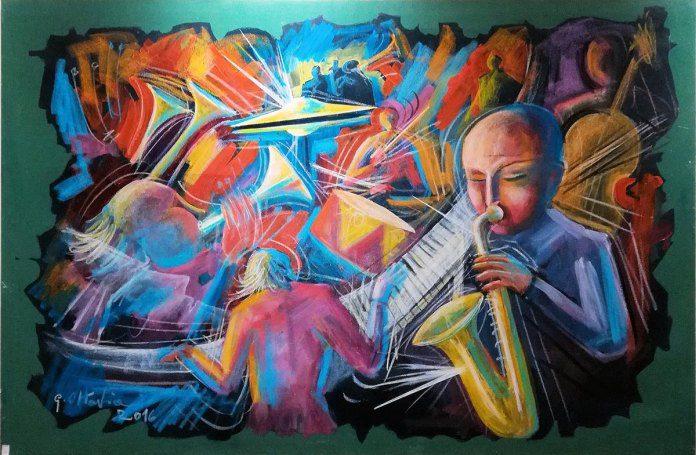 03 Ottaviani Musica 150x100 cm.