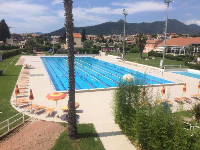piscina olimpionica del PalaGarassini Loano