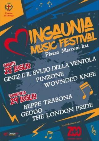 Ingaunia Love Music Festival graf