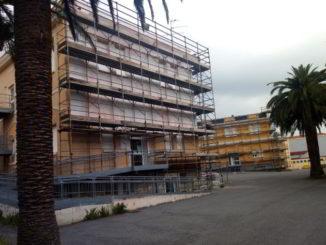 Lavori Scuole Ramella di Loano